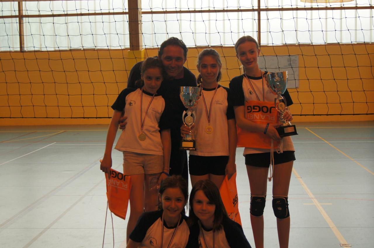 Championnes du tournoi de Mitry Mory