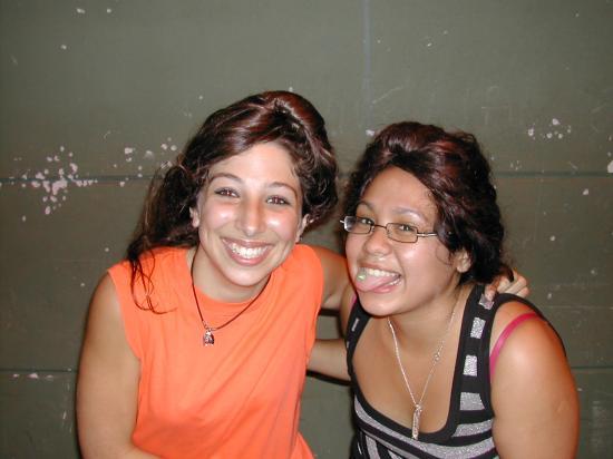 Léa et Mariane