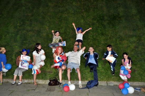 Nos jeunes fetent la victoire dans l'herbe de Bercy