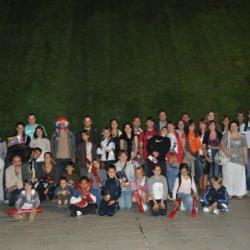 Tout le groupe à Bercy