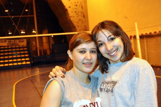 Marie et Léa