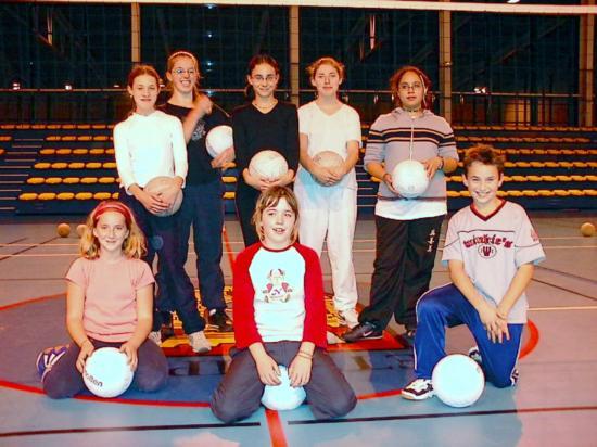 Ecole de volley 2004/2005